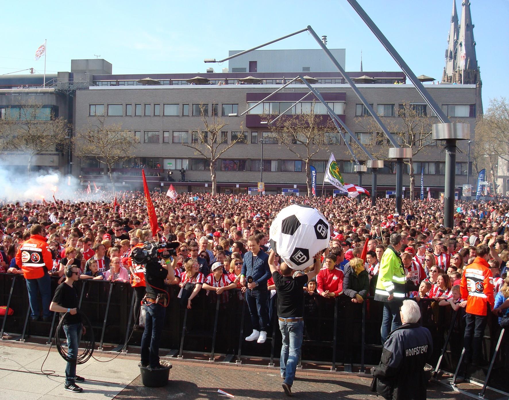 activatie ED bij kampioenschap PSV